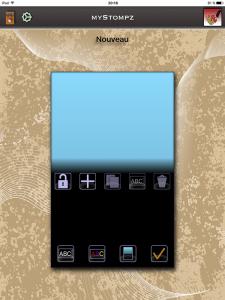 MyStompz iPad Screenshot - The main screen